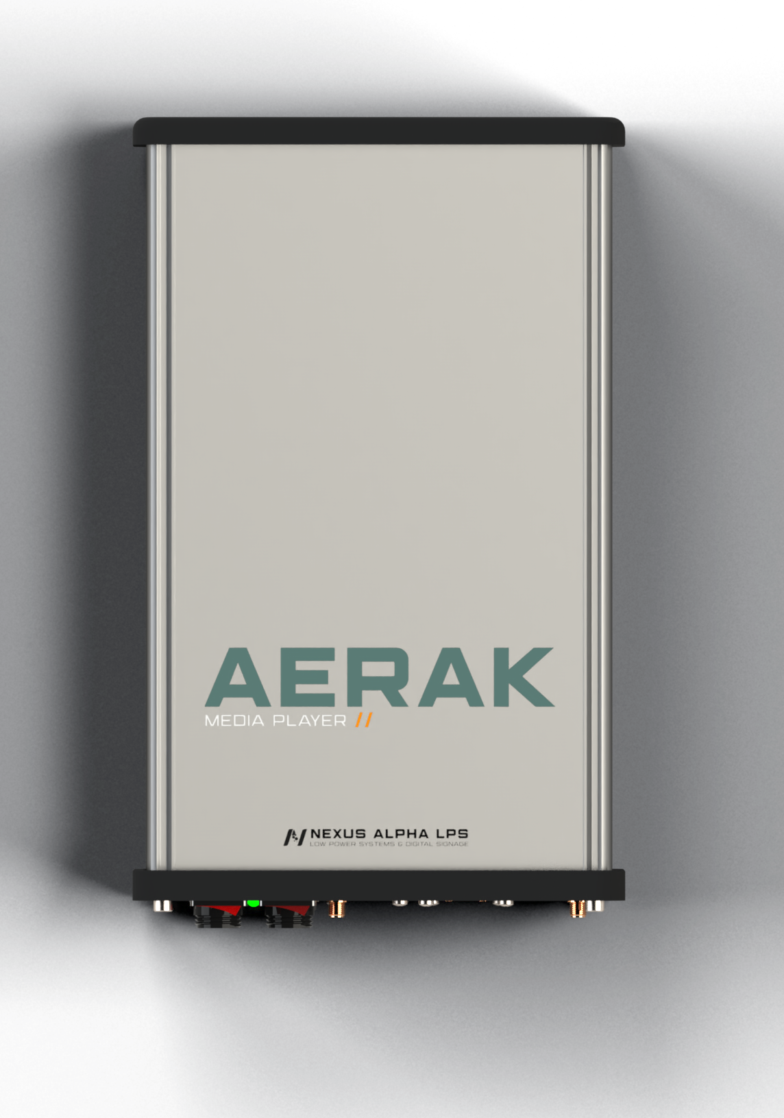 Aerak media player. Concept by Nexus Alpha